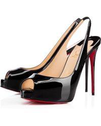Christian Louboutin - Private Number Patent - Lyst