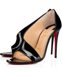 Christian Louboutin - Phoebe Patent 100 Black Patent - Lyst