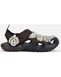 Christopher Kane - Crystal Swiftwater Crocs - Lyst