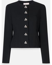 Christopher Kane - Crystal Fitted Jacket - Lyst