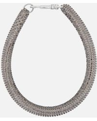 Christopher Kane - Slim Bolster Necklace - Lyst
