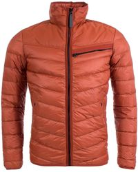 ee8fad375ff94 G-Star Raw Attacc Down Jacket In Rust for Men - Lyst