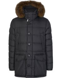 Moncler - Cluny Quilted Coat - Lyst