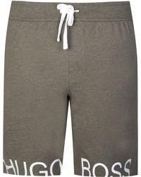 d373b1955 BOSS Hugo :shorts Short Pant Cw 50317516 Men's Shorts In Grey in ...