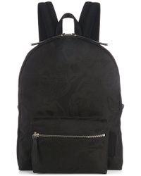 Alexander McQueen - Mainline Skull-camouflage Jacquard Backpack Black - Lyst