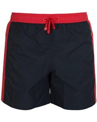 Armani - Ea7 Swim Shorts Navy - Lyst