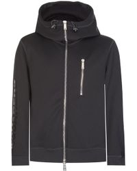 DSquared² - Dsquared Sleeve Logo Zip Hoodie Black - Lyst