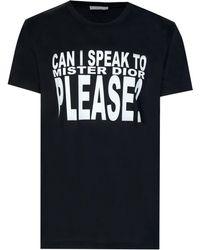 Dior Homme - 'mister Dior' T-shirt - Lyst