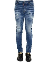 DSquared² - Dsquared Signature Distressed Cool Guy Jeans - Lyst