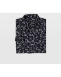 Club Monaco - Slim Floral Burst Shirt - Lyst