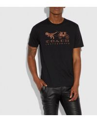 COACH - Rexy And Carriage T-shirt - Lyst