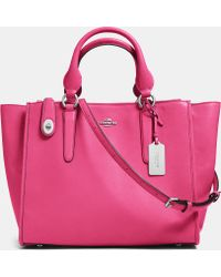 COACH - Crosby Carryall In Leather - Lyst