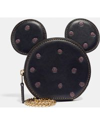 COACH - Boxed Minnie Mouse Coin Case - Lyst