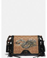 COACH - Dinky 19 In Signature Canvas With Tattoo - Lyst