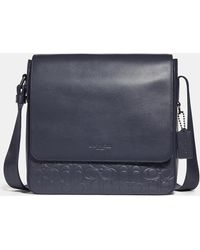 COACH - Metropolitan Map Bag In Signature Leather - Lyst