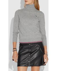 COACH - Rexy Wool And Cashmere Sweater - Lyst