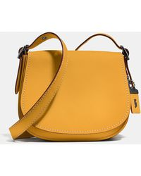 COACH | Saddle 23 In Glovetanned Leather | Lyst