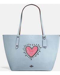 COACH - X Keith Haring Market Tote - Lyst