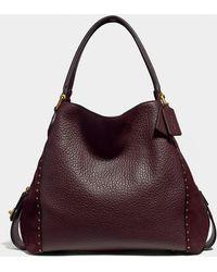COACH - Edie Shoulder Bag 42 With Rivets - Lyst