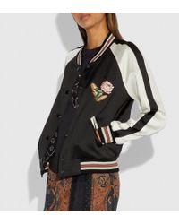 COACH - Reversible Varsity Jacket - Lyst