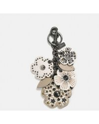 COACH - Willow Floral Mix Bag Charm - Lyst