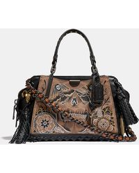 COACH - Dreamer 21 In Signature Canvas With Tattoo - Lyst