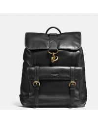 COACH - Bleecker Backpack In Sport Calf Leather - Lyst