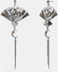 COACH - Fan Earrings - Lyst
