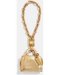 COACH Rogue Bag Charm - Metallic