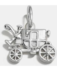 COACH - Carriage Charm - Lyst