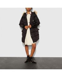 COACH | Nylon Puffer Coat | Lyst