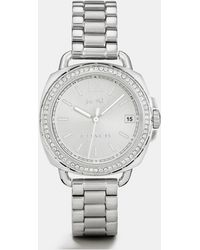 COACH - Tatum Stainless Steel Sunray Dial Set Bracelet Watch - Lyst