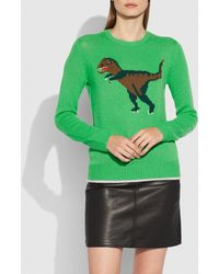 COACH - Rexy Intarsia Sweater - Lyst