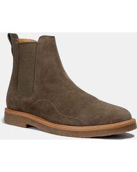 887fe64f90979 COACH - Chelsea Boot - Lyst
