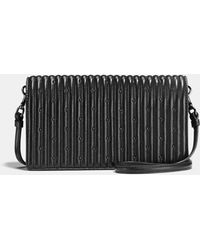 COACH - Hayden Foldover Crossbody Clutch With Quilting And Rivets - Lyst