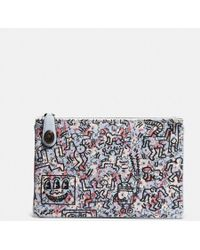 COACH | X Keith Haring Turnlock Pouch 26 | Lyst