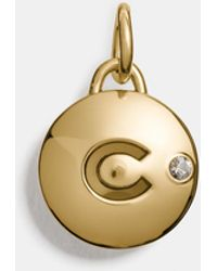COACH - C Disc Charm - Lyst