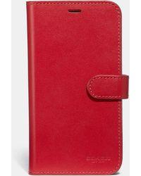 COACH - Iphone X/xs Folio - Lyst