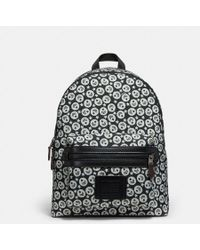COACH - Academy Backpack With Chevron Star Print - Lyst