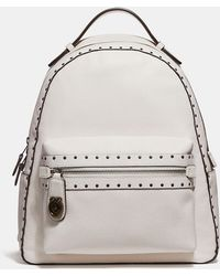 COACH - Campus Backpack With Rivets - Lyst