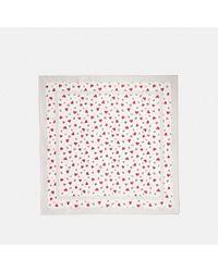 COACH - Valentine Print Square - Lyst