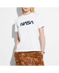 COACH - Embellished Space T-shirt - Lyst