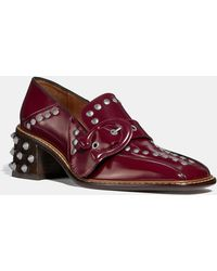 COACH - Signature Buckle Loafer - Lyst