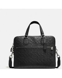 COACH - Hudson 5 Bag In Signature Crossgrain Leather - Lyst