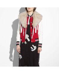 COACH | Varsity Jacket | Lyst