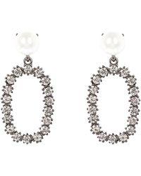 Coast - Mila Pearl Earrings - Lyst