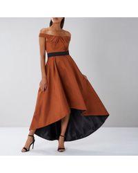 Coast - Lizetta Bardot Maxi Dress - Lyst
