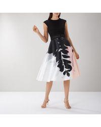 Coast | Drake Print Full Midi Dress | Lyst
