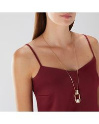 Coast - Darcie Pearl Necklace - Lyst