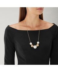Coast - Sienna Longline Pearl Necklace - Lyst